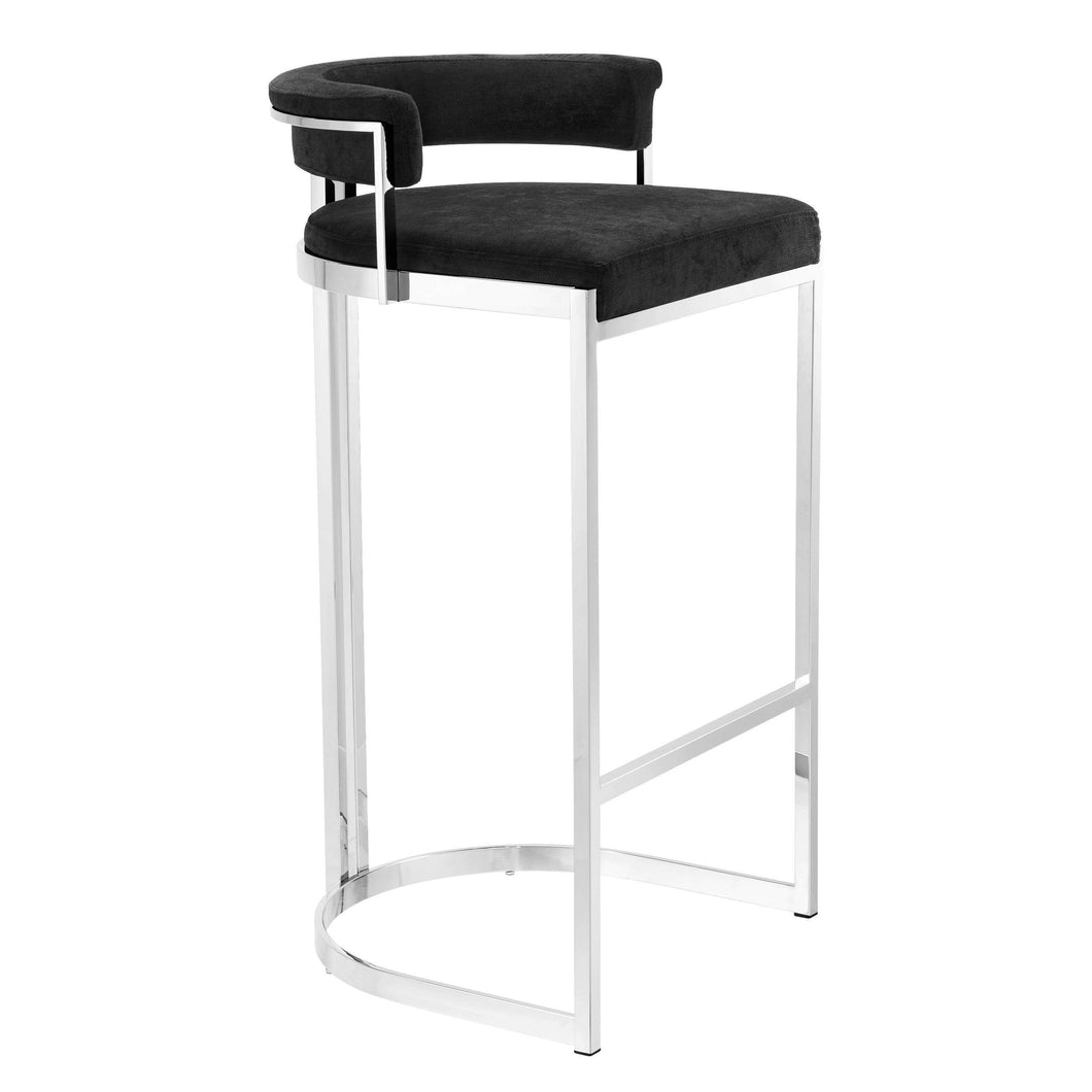 Dante Chrome Steel Barstool