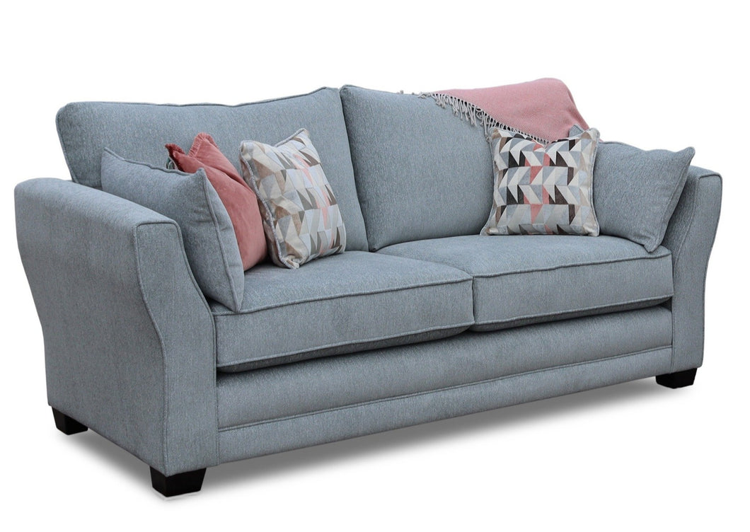 Leanne Sofa in Aqua Clean Fabric