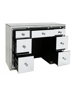 Paris Mirror 7 Drawer Dressing Table