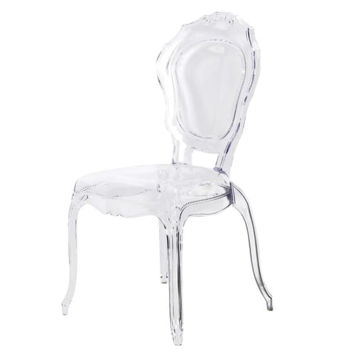 Clear French Style Chair