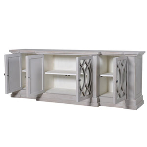 Grey Grattan Mirrored Sideboard