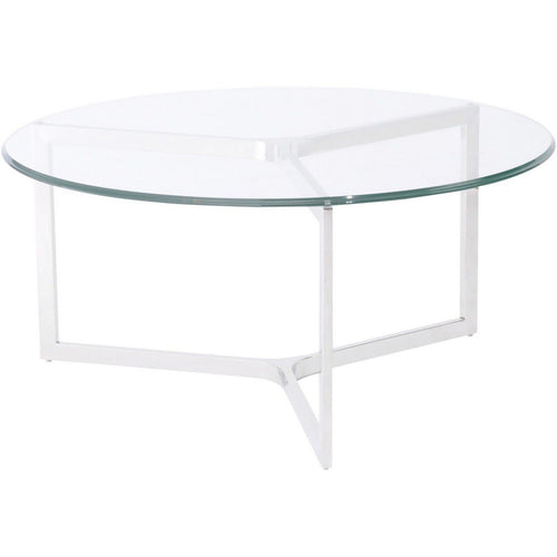 Linton Steel and Glass Coffee Table