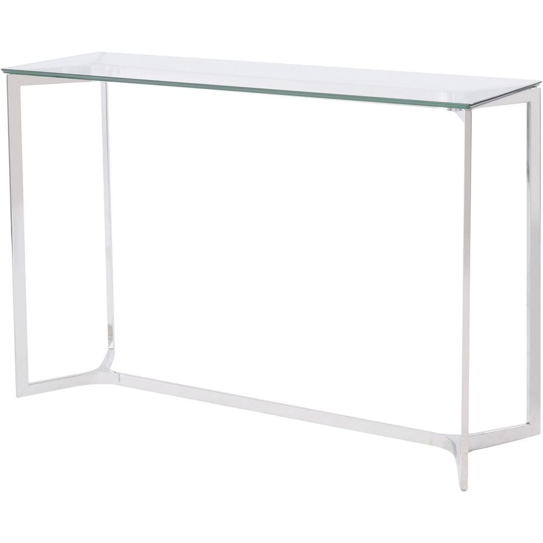 Linton Stainless Steel Console Table