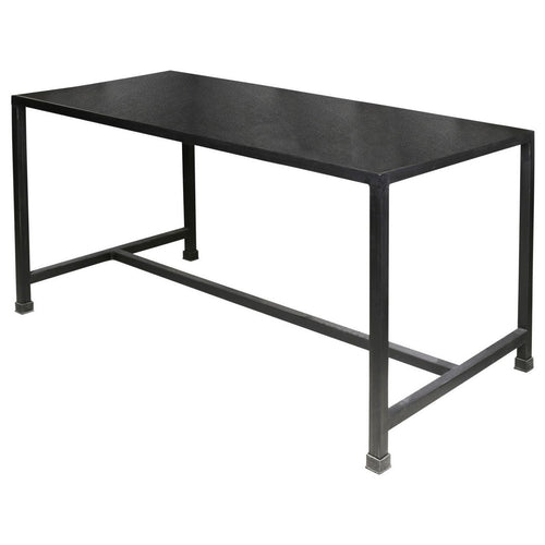 Moretti Black Italian Slate Effect Rectangular Dining Table