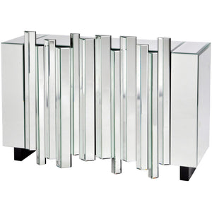 Crystalline Mirrored Cabinet
