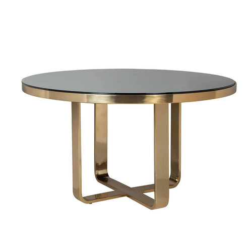 Venice Round Dining Table ( including glass top)