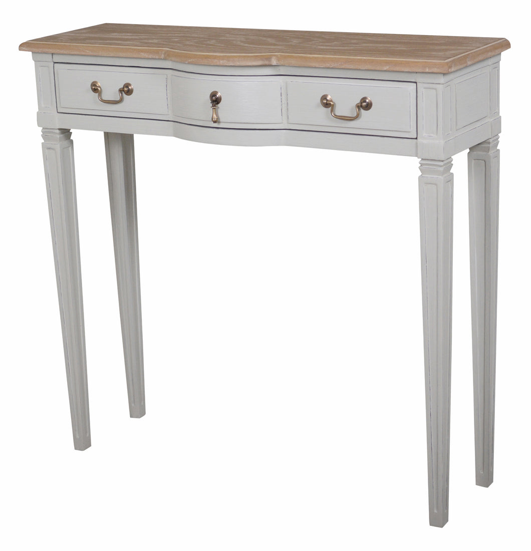 Annabelle Small Wood Top Console