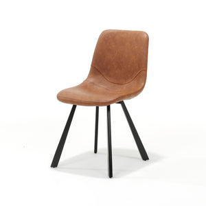 Bari Dining Chair Vintage Cognac