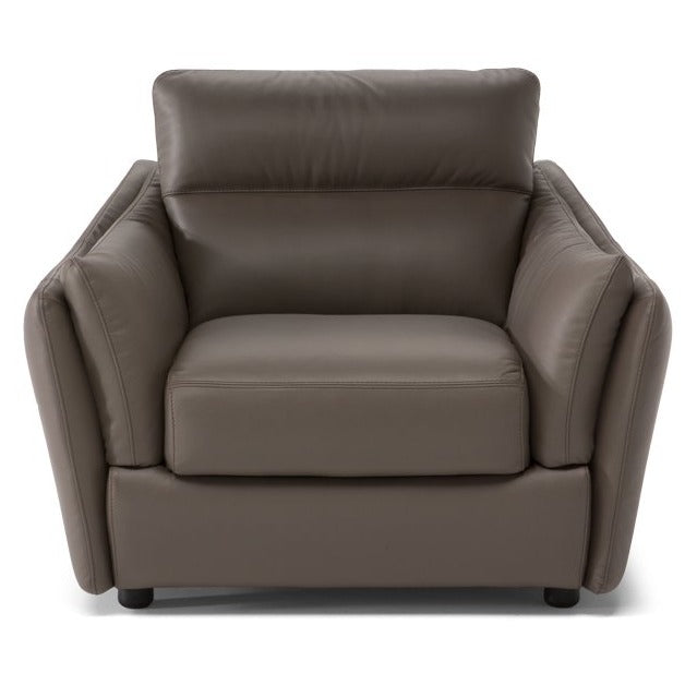 C055 Natuzzi Editions Leather Chair