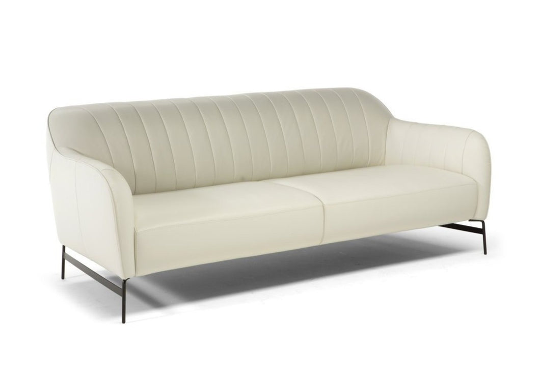 Elegante C133 Natuzzi Editions Leather Sofa