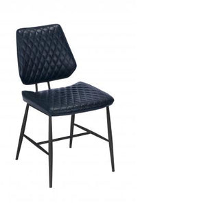 Dalton Dining Chair (Dark Blue)