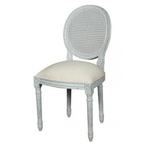 Val Hand Painted Chair (Grey)