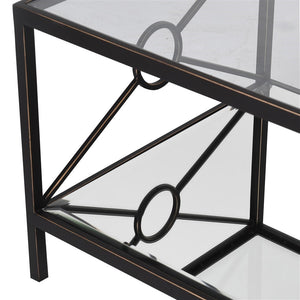 Blacknight Mirrored Coffee Table