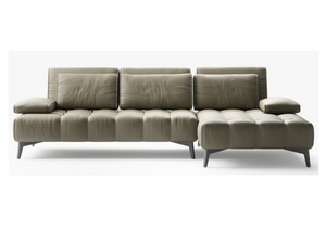 Calia Rosemary Fabric Chaise
