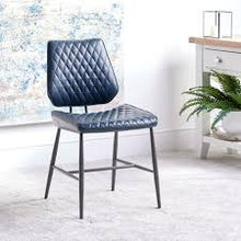 Load image into Gallery viewer, Dalton Dining Chair (Dark Blue)