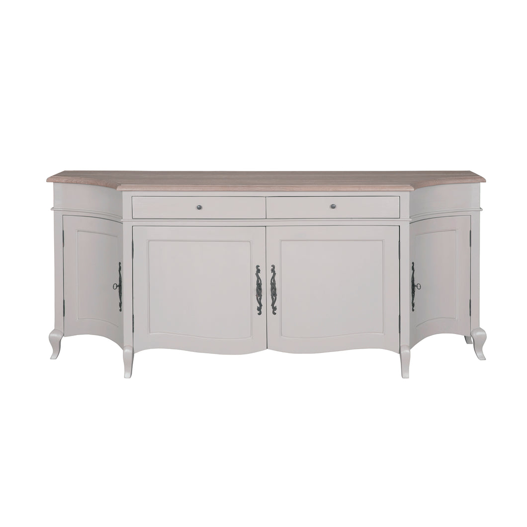 Sofia 4 Door Sideboard in Oak/Antique