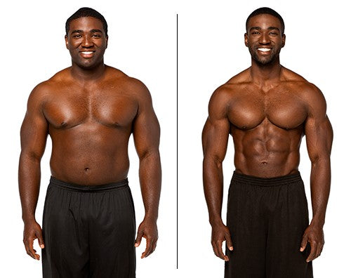 ANTHONY LOST 18KG WITH SHREDDERS NUTRITION