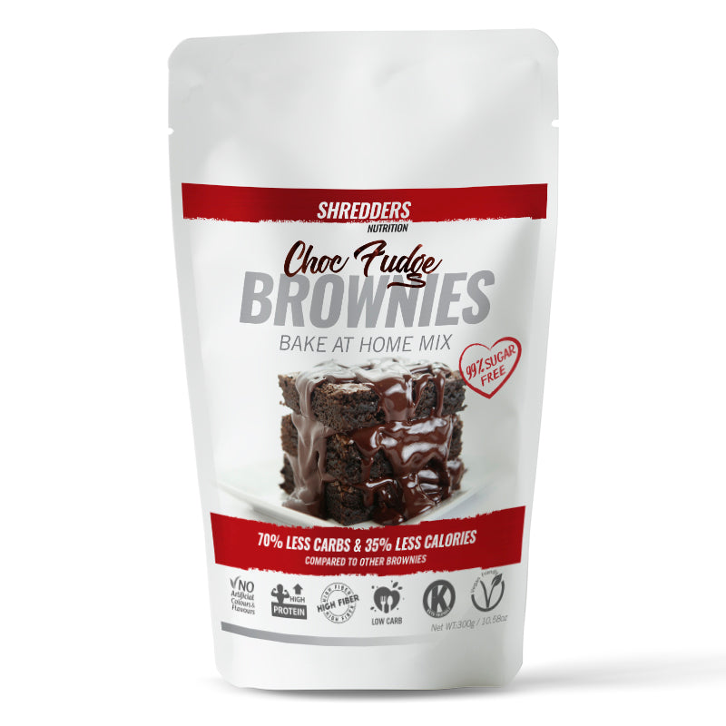 Choc Fudge Protein Brownies