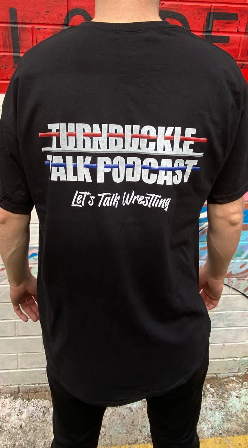 Turnbuckle Talk Podcast Tee