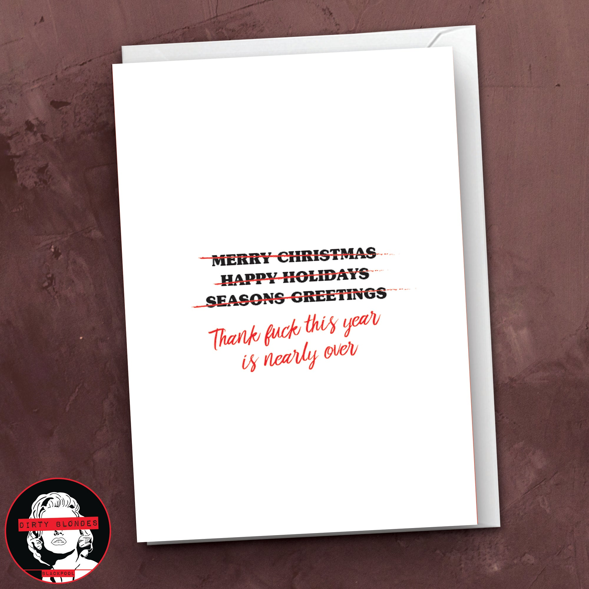 Thank Fuck Christmas Card