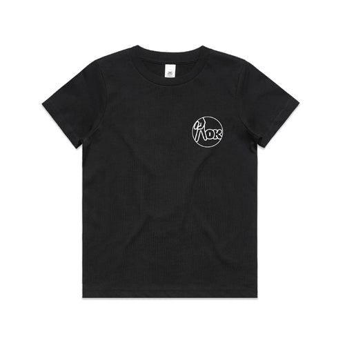 AOK Kids Logo Tee - Black