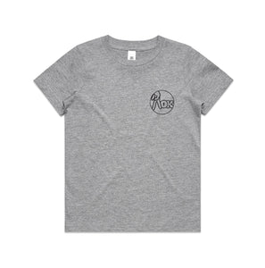 AOK Youth Logo Tee - Grey