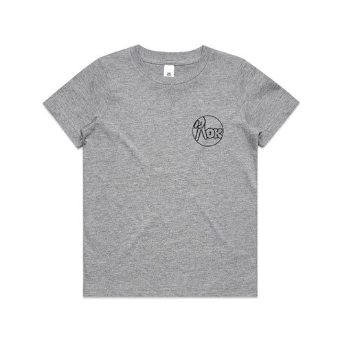 AOK Kids Logo Tee - Grey
