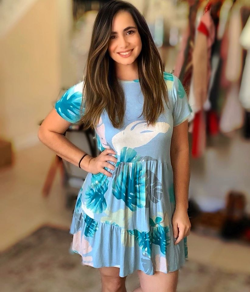 Aqua Sunny Dress