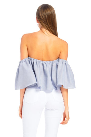 Samantha Off Shoulder Top
