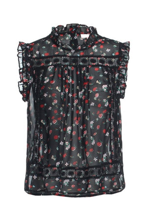 Cecilia Flowers Blouse