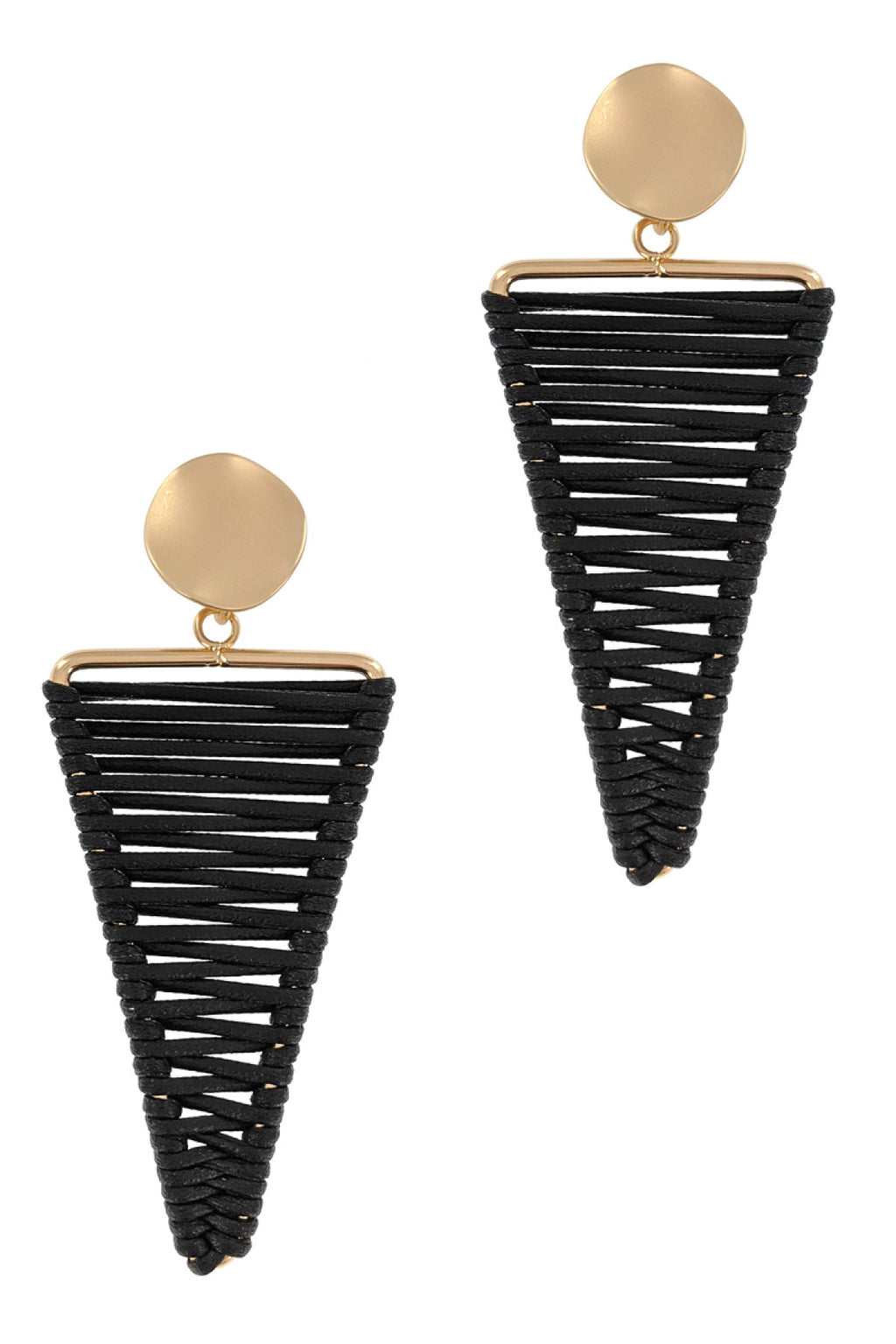 Let's Rock Earrings (Black)
