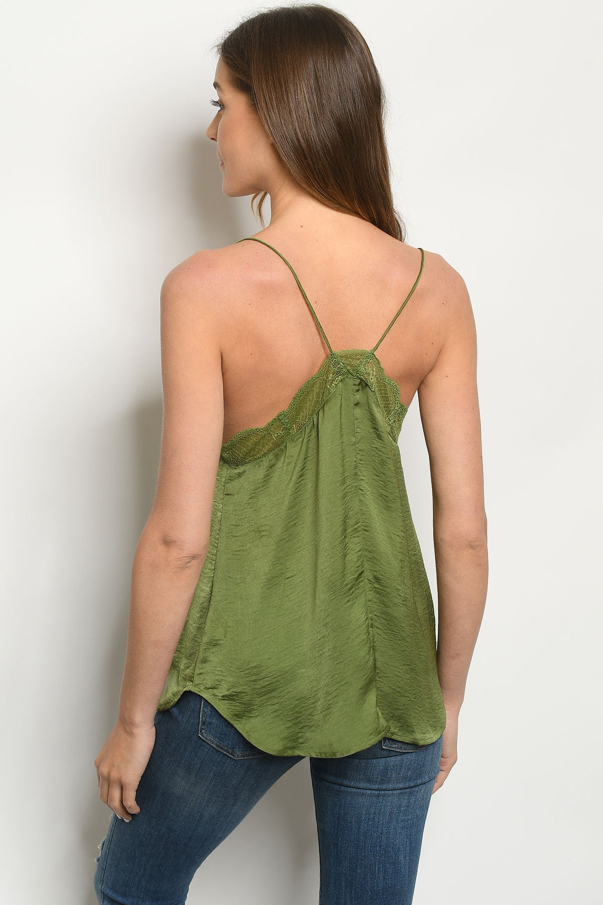 Play To Lace The Olive Top