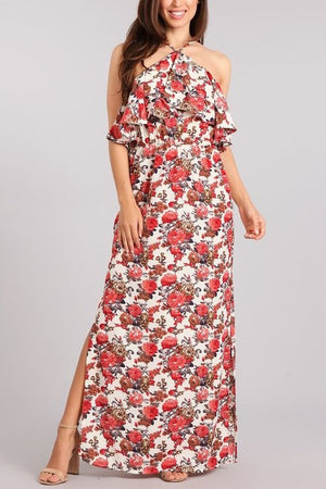 Flower 'Em With Love Maxi Dress
