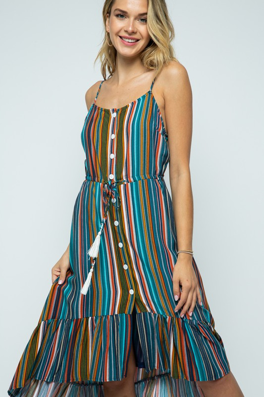 Fall For You in a Stripes Dress