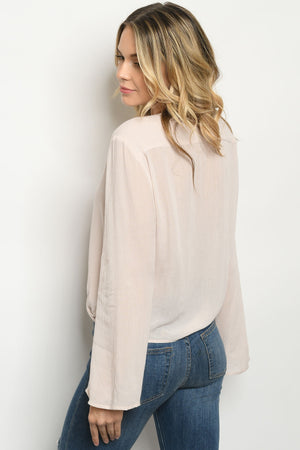 Dakota Plunge Wrap Top