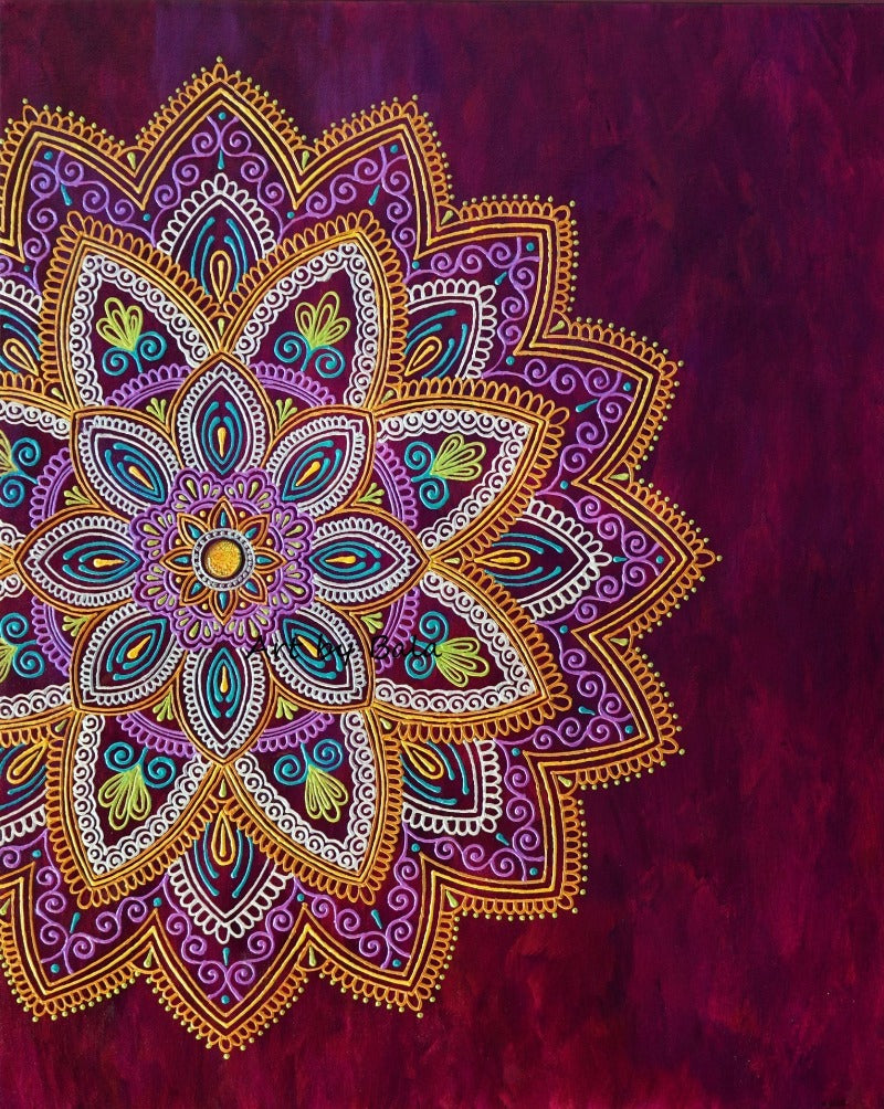 Adaptation Mandala - Art by Bala