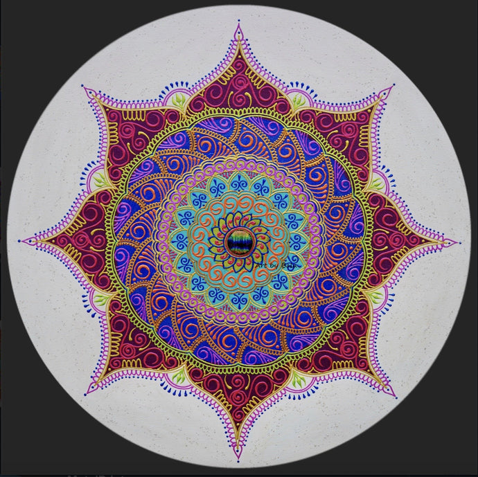 Alignment Mandala - Art by Bala