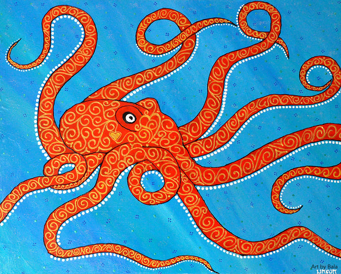 Octopus - Art by Bala