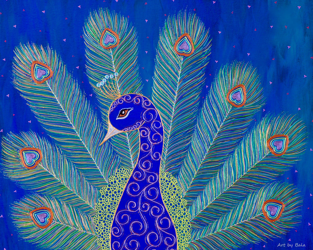 Peacock - Art by Bala