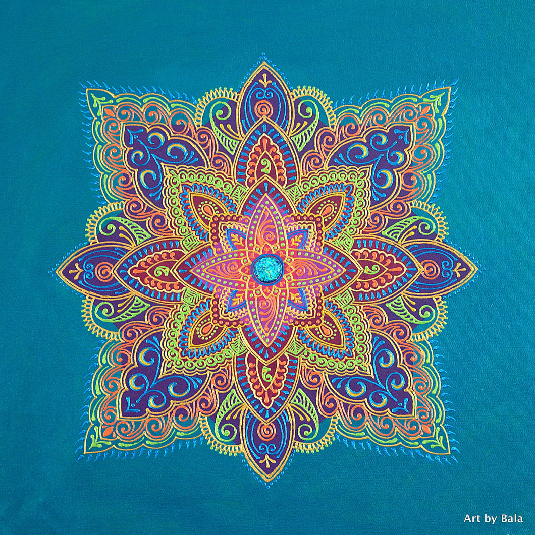 Fortitude Mandala - Art by Bala