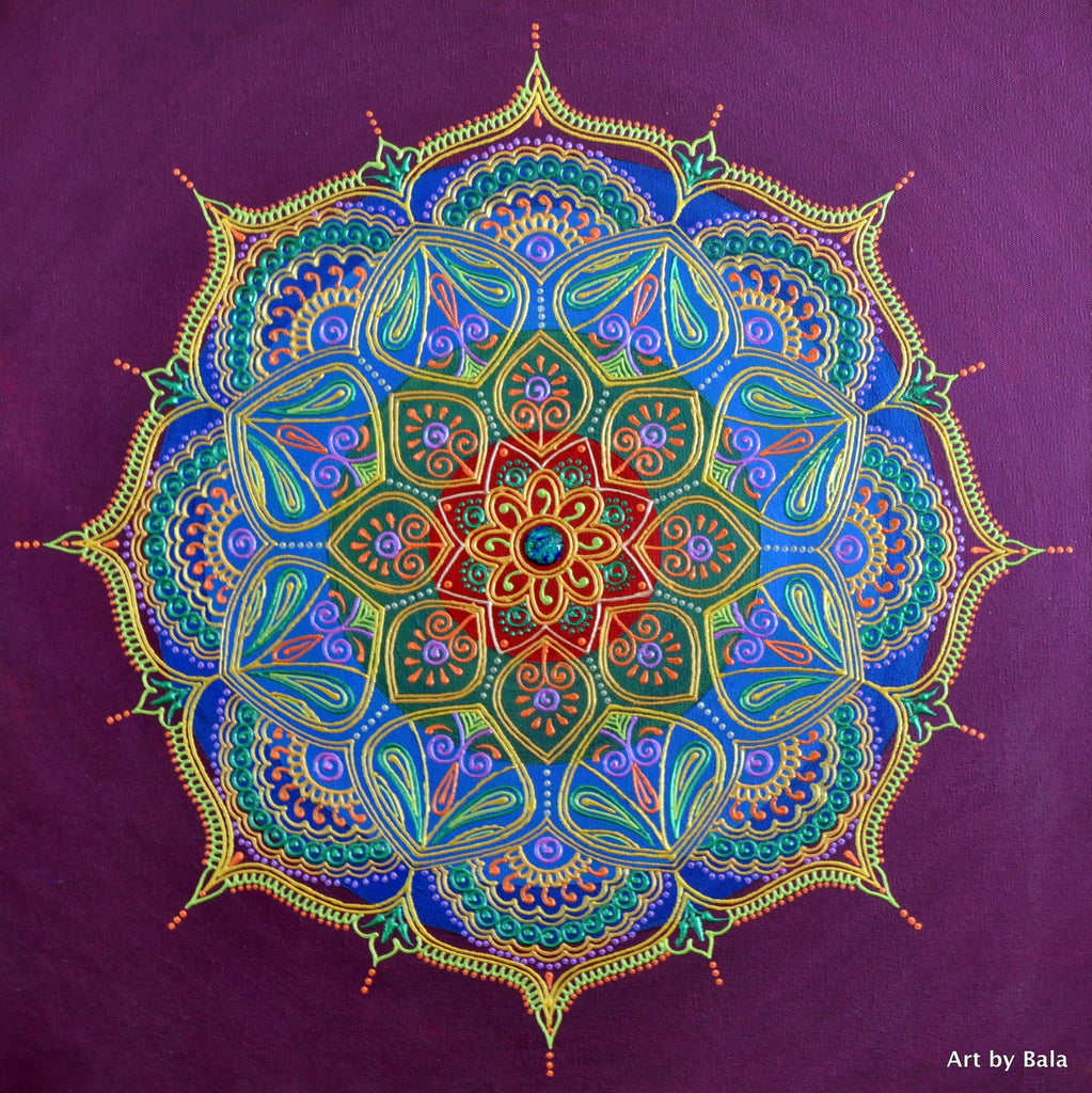 Reverberation Mandala - Art by Bala