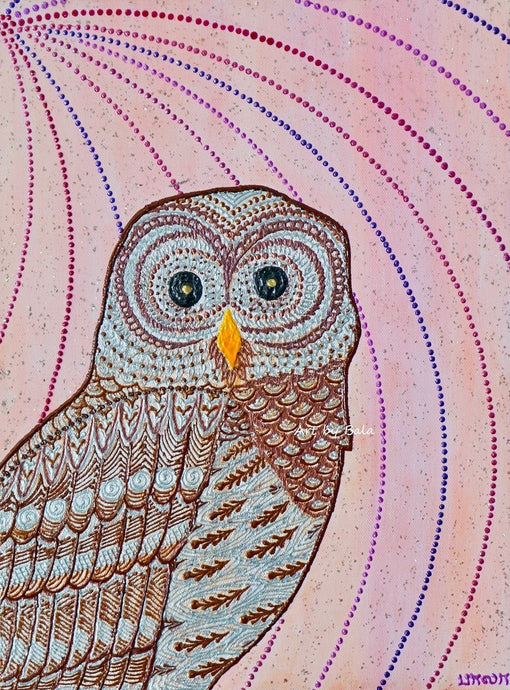 Barred Owl - Art by Bala