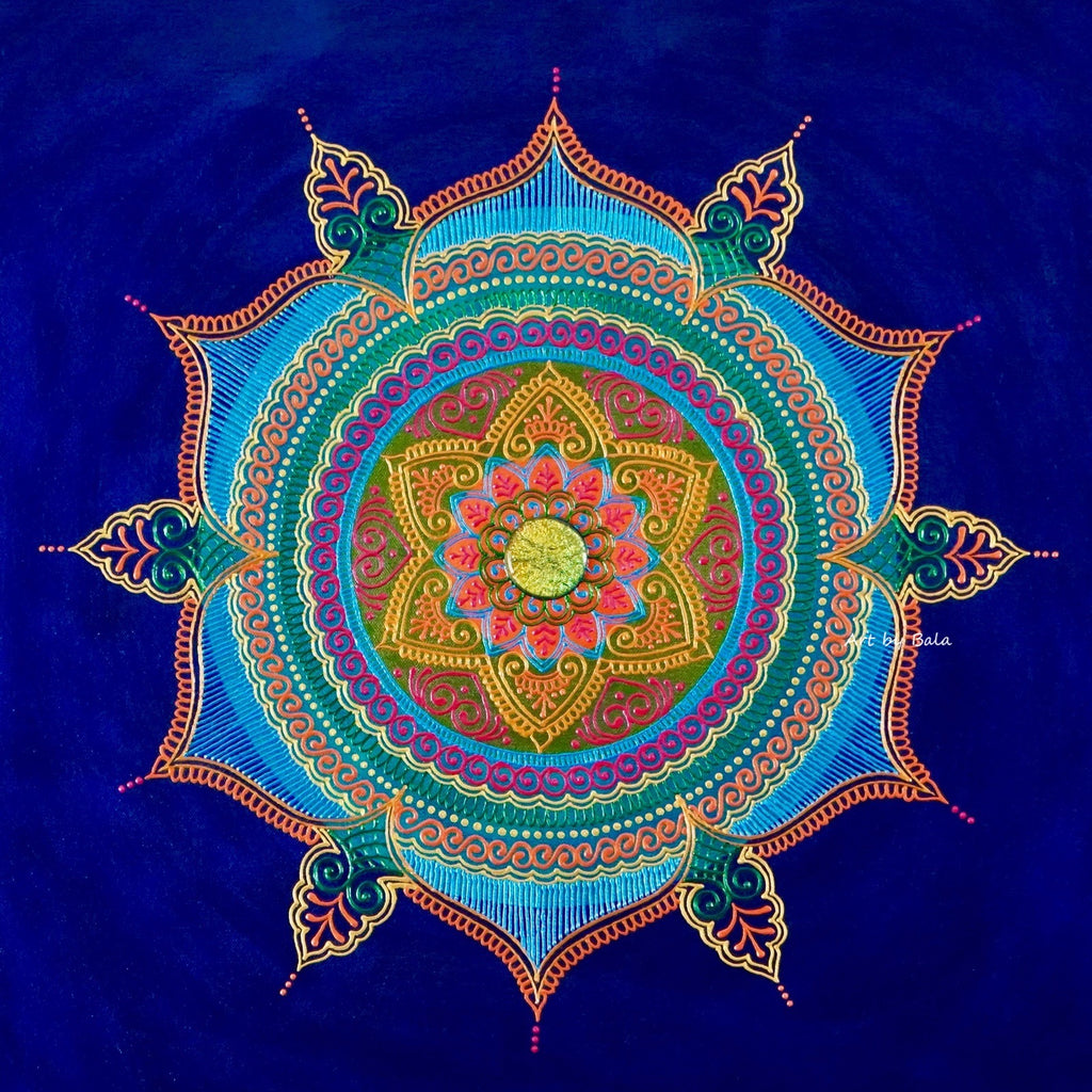 Clarity Mandala - Art by Bala