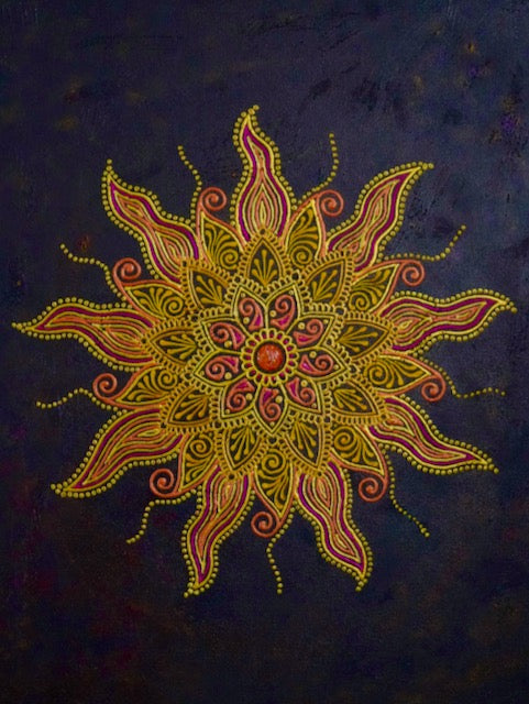 Sun Mandala - Art by Bala
