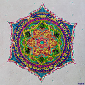 Intention Mandala - Art by Bala