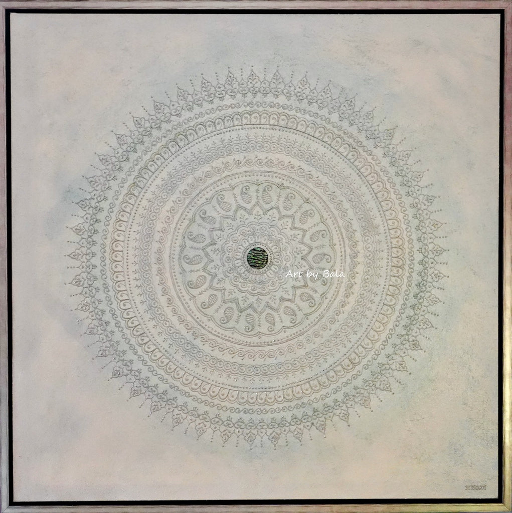 Cloud Mandala - Art by Bala