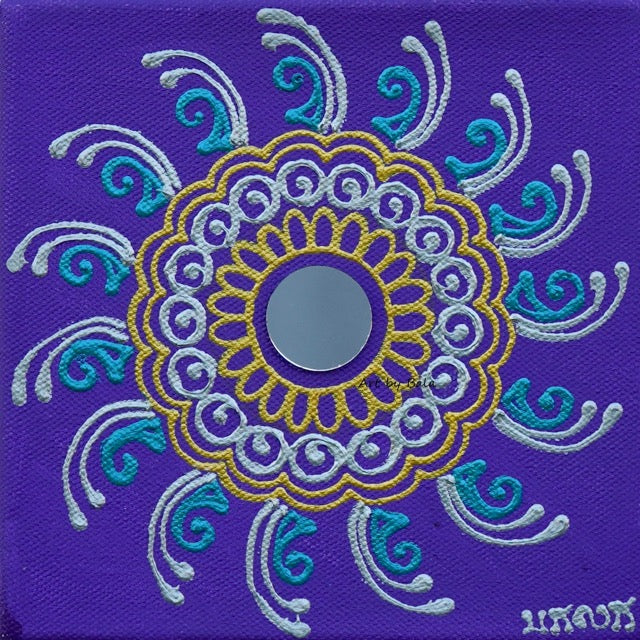 "6"" x 6"" Mandala - 1 - Art by Bala"