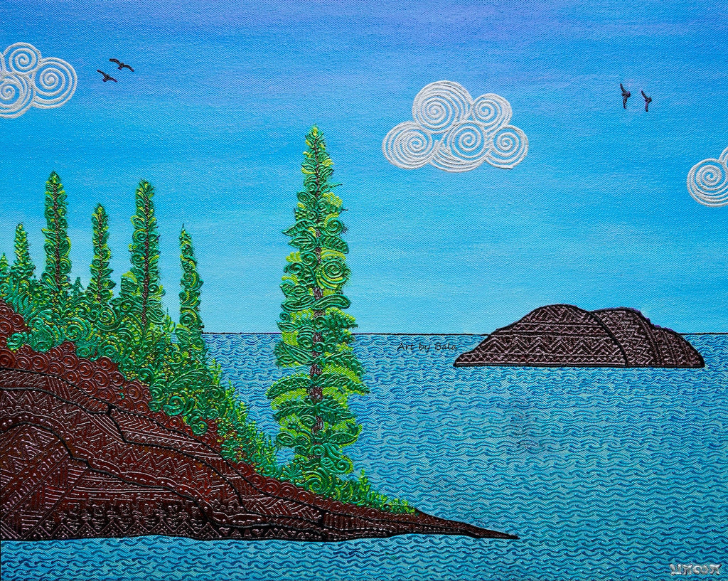 Isle Royale National Park - Art by Bala
