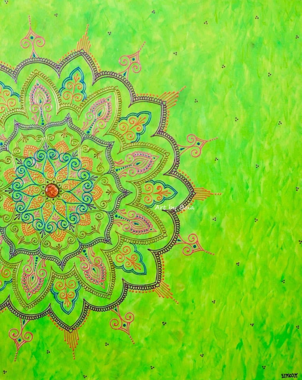 Delight Mandala - Art by Bala