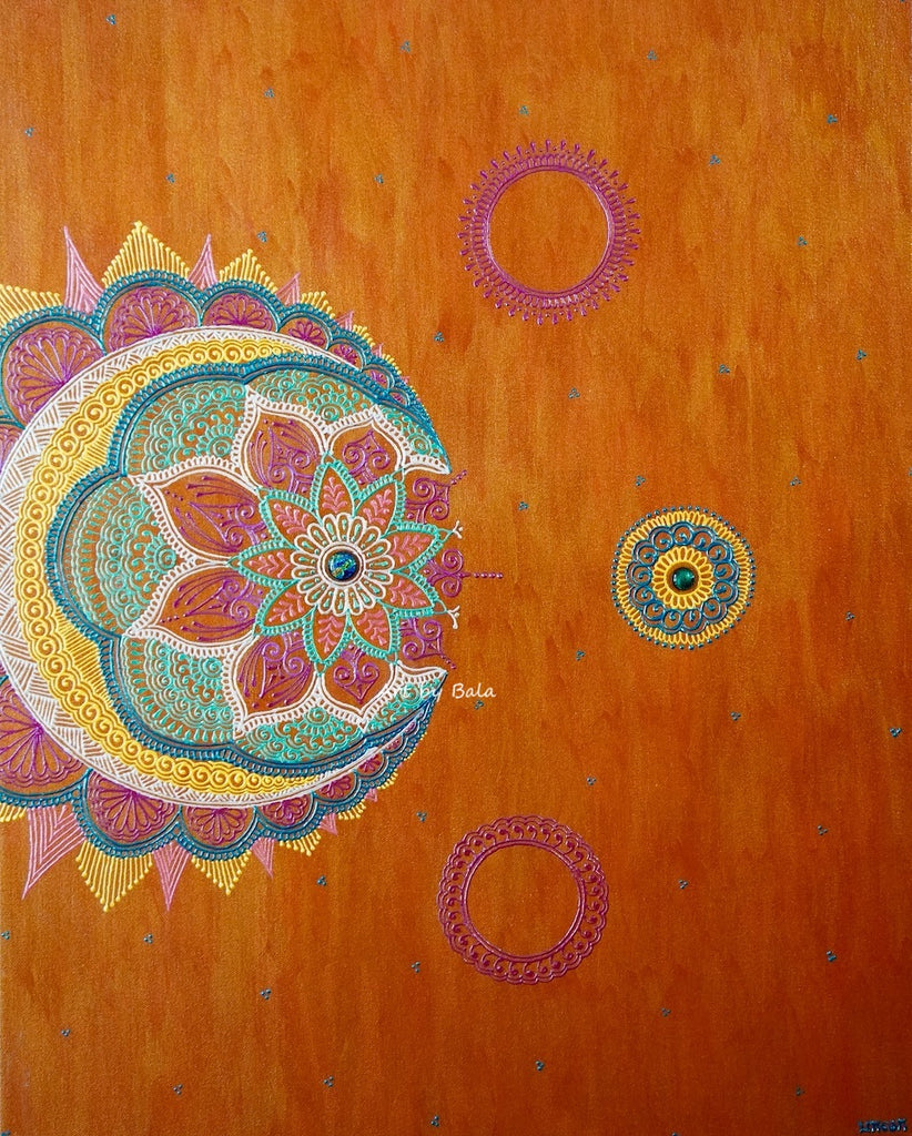 Expectation Mandala - Art by Bala